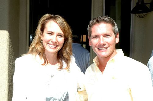 Gabrielle Giffords and Jack Armstrong