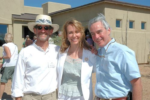 Phil Pepper, Gabrielle Giffords, and Bill Viner
