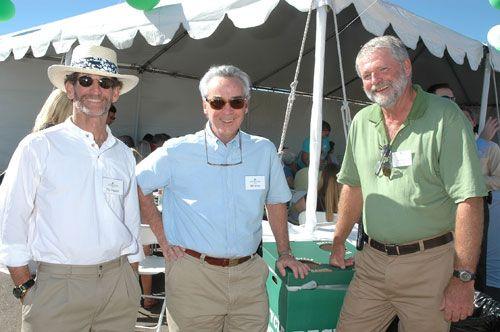 Phil Pepper, Bill Viner, and Richard Barna