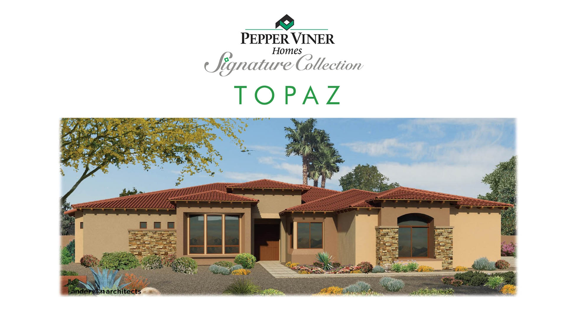 house plans - Topaz - custom home